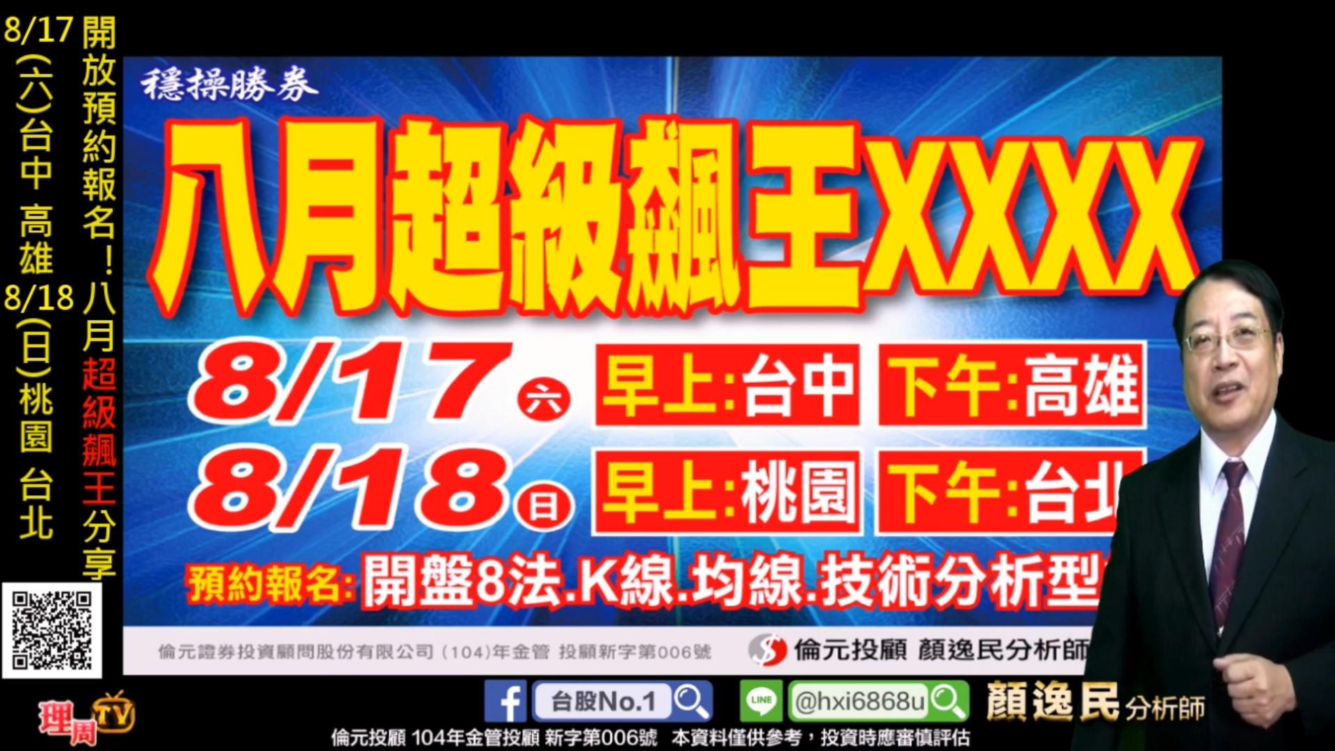 0814_開放預約報名!八月超級飆王分享 8/17(六)台中 高雄 8/18(日)桃園 台北