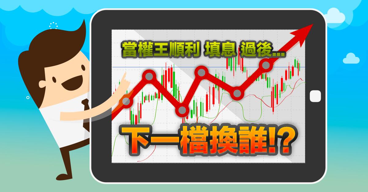 【股市分析】當台股權王順利填息過後...下一檔換誰!?