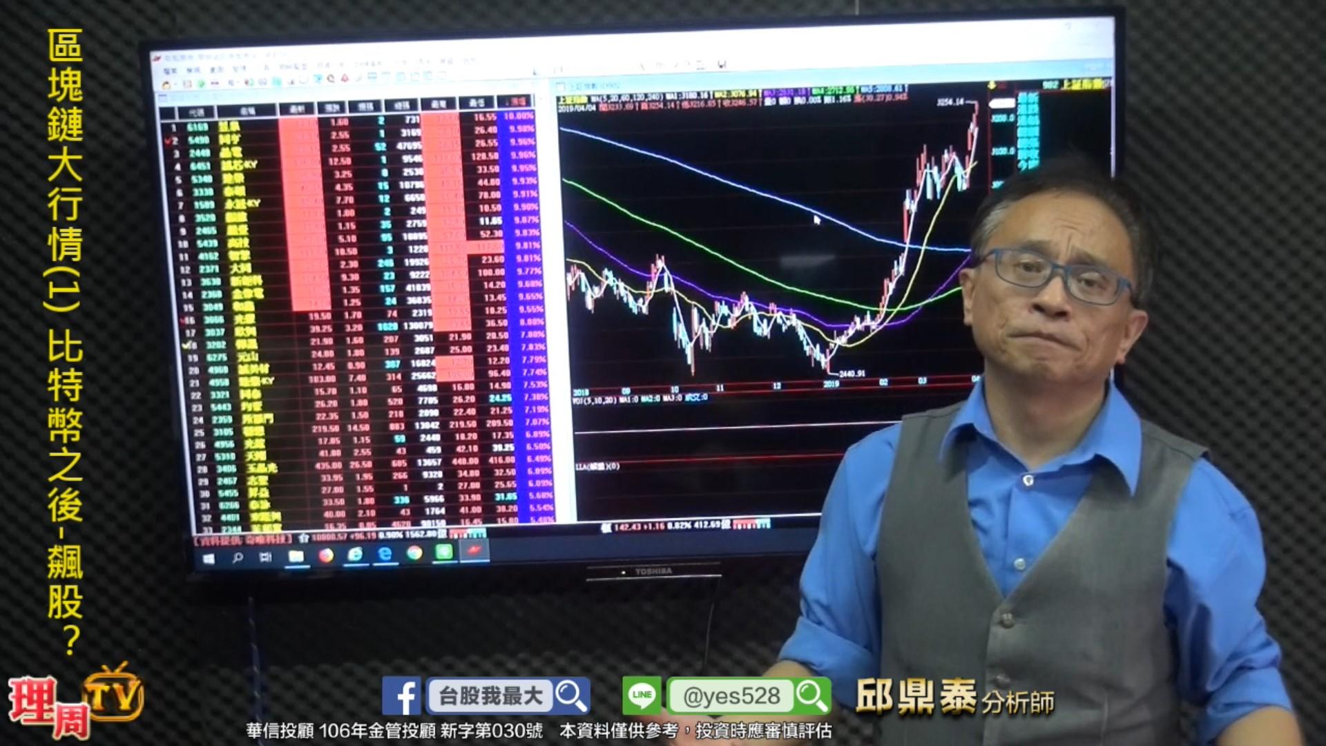 區塊鏈大行情(1) 比特幣之後-飆股?