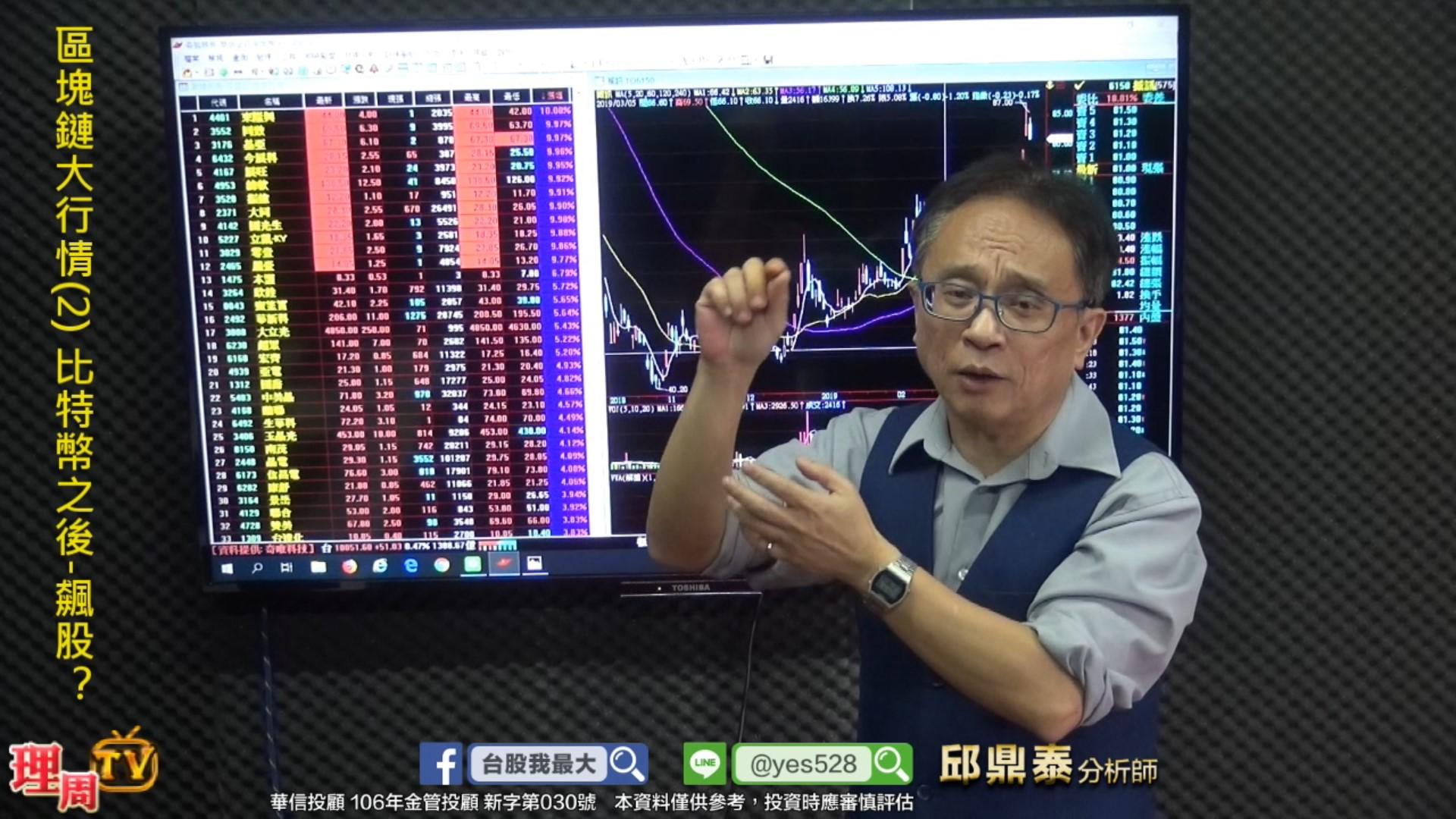 區塊鏈大行情(2) 比特幣之後-飆股?