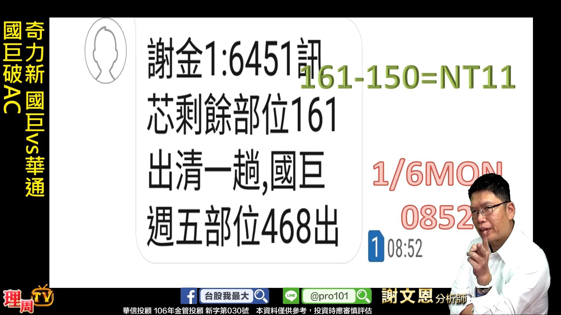 0107_奇力新 國巨vs華通 國巨破AC