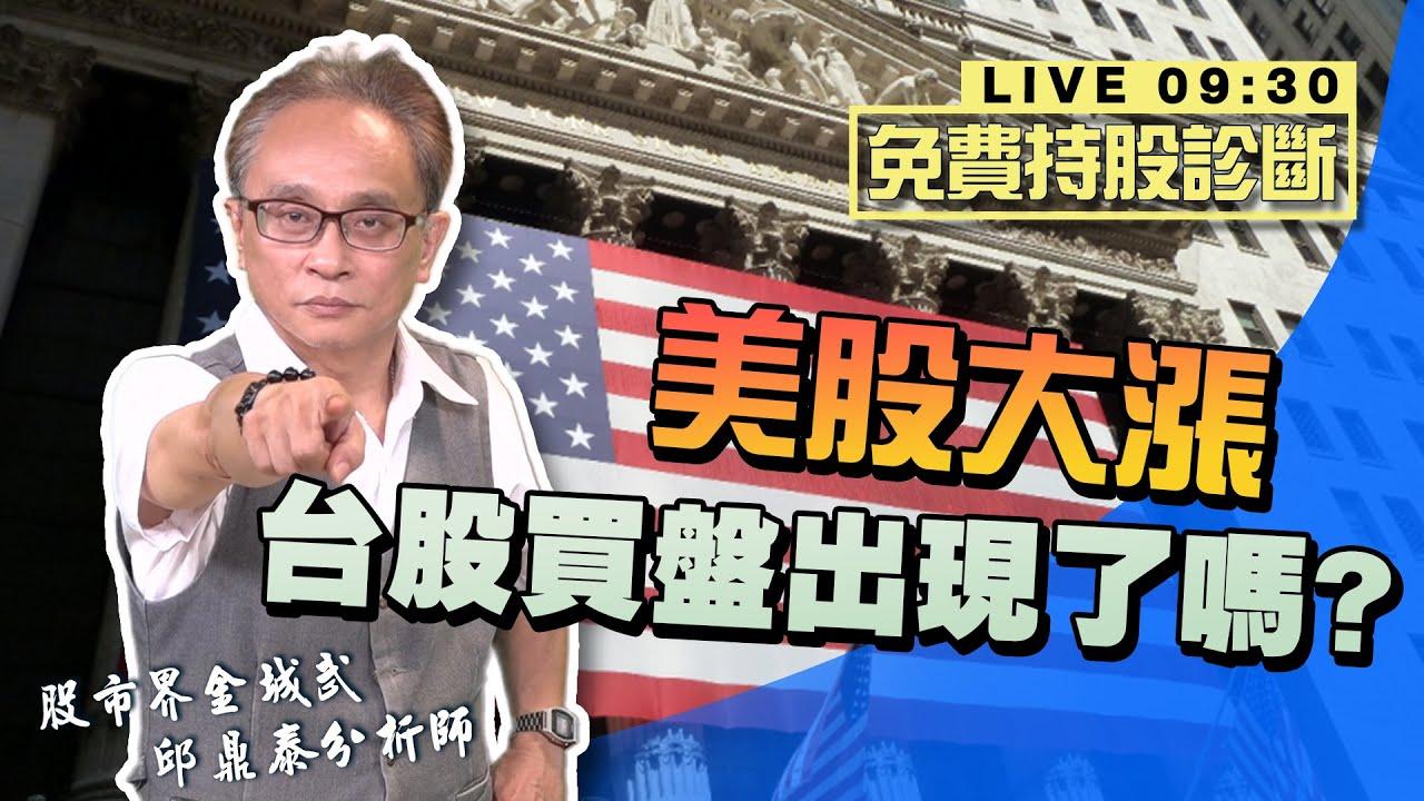 2020/08/13(四) 邱鼎泰【美股大漲 台股買盤出現了嗎?】